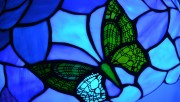 Blue Stained Glass Butter…