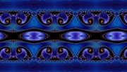 Blue Energy Pattern