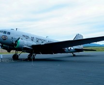 DC-3 Military Airplane
