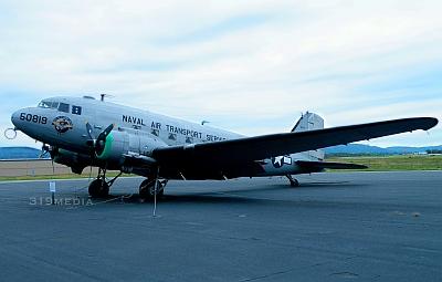 DC-3 Military Airplane