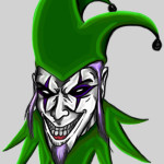 Evil Joker Clown Jester