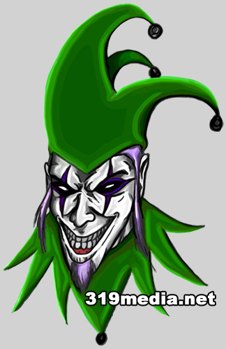 Evil Joker Clown Jester