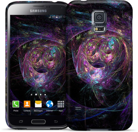 Chaos Colors Abstract Case